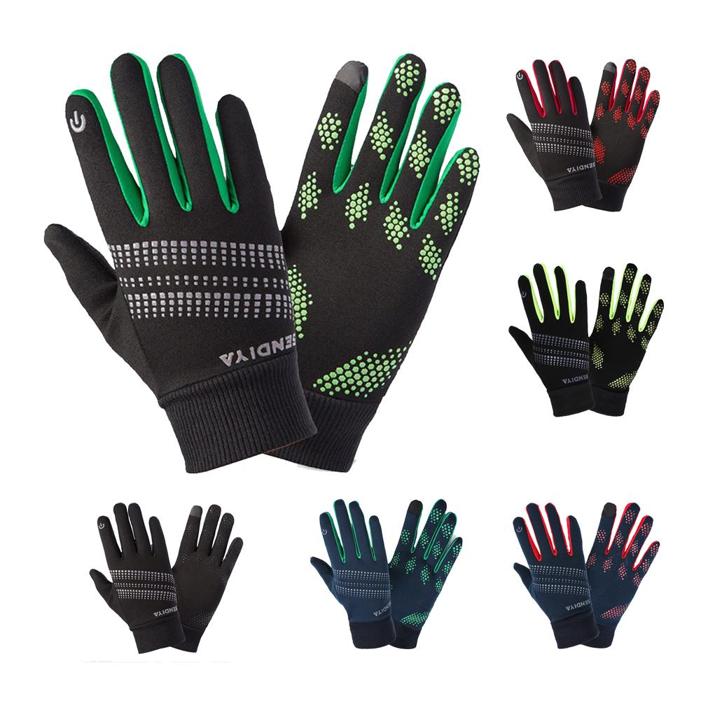 Reflective Warm Gloves Windproof And Waterproof Cycling Running Gloves Suitable For Cycling Snow Protective Gloves
