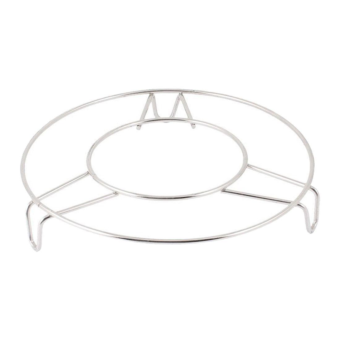 FJS-Stainless Steel Round Steamer Rack Stand 6 Inch Diameter 2 Pcs