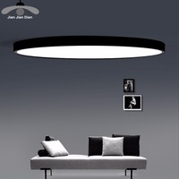 LED Ceiling Light Modern Panel Lamp Lighting Fixture Living Room Bedroom Kitchen Surface Mount Flush Remote