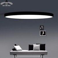 LED Ceiling Light Modern Panel Lamp Lighting Fixture Living Room Bedroom Kitchen Surface Mount Flush Remote