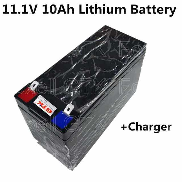 Lithium Car Battery >> Lithium Ion Battery Pack 10ah 11 1v 12v For Rechargeable Rc Car