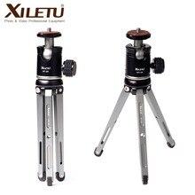 Ulanzi XILETU ترايبود سبائك الألومنيوم صغيرة Monopod مرنة حامل كاميرا واط 360 درجة استدارة Ballhead لكانون نيكون سوني DSLR كاميرا