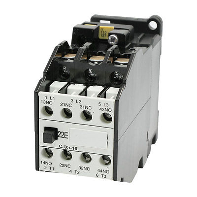 цена на 110V/50Hz 127V/60Hz Coil AC Contactor 4 Pole 2NO 2NC CJX1-16A