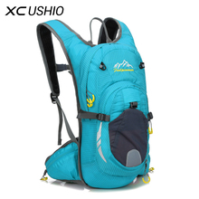 15L Nylon Waterproof Mountain Bike Hydration Pack Water Backpack Breathable Large Capacity Bicycle Bags Cycling Backpack 6 Color