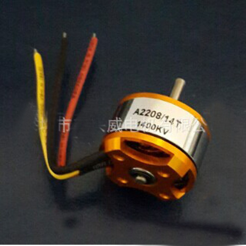 US $14 0  1400rpm/V A2208 1400KV brushless DC motor remote control boat  model-in DC Motor from Home Improvement on Aliexpress com   Alibaba Group