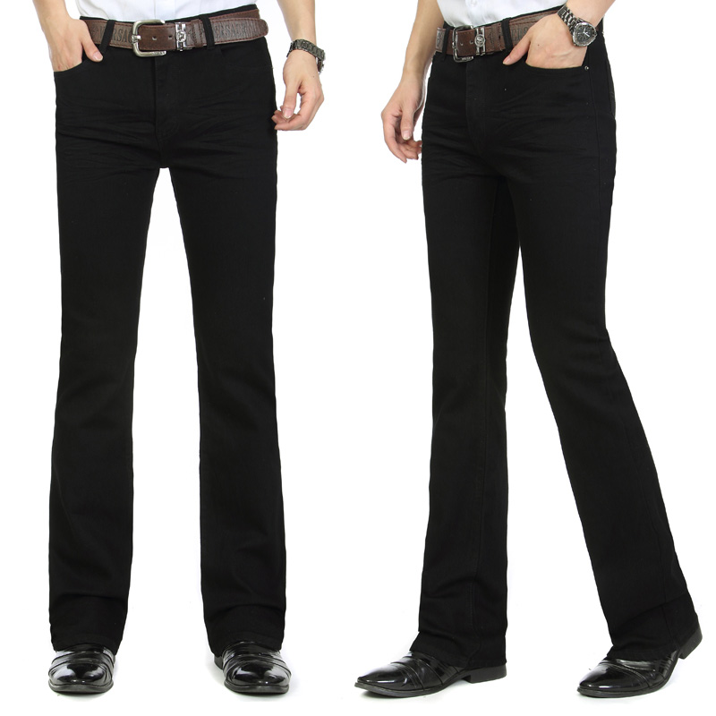 Popular Black Boot Cut Jeans for Men-Buy Cheap Black Boot Cut ...