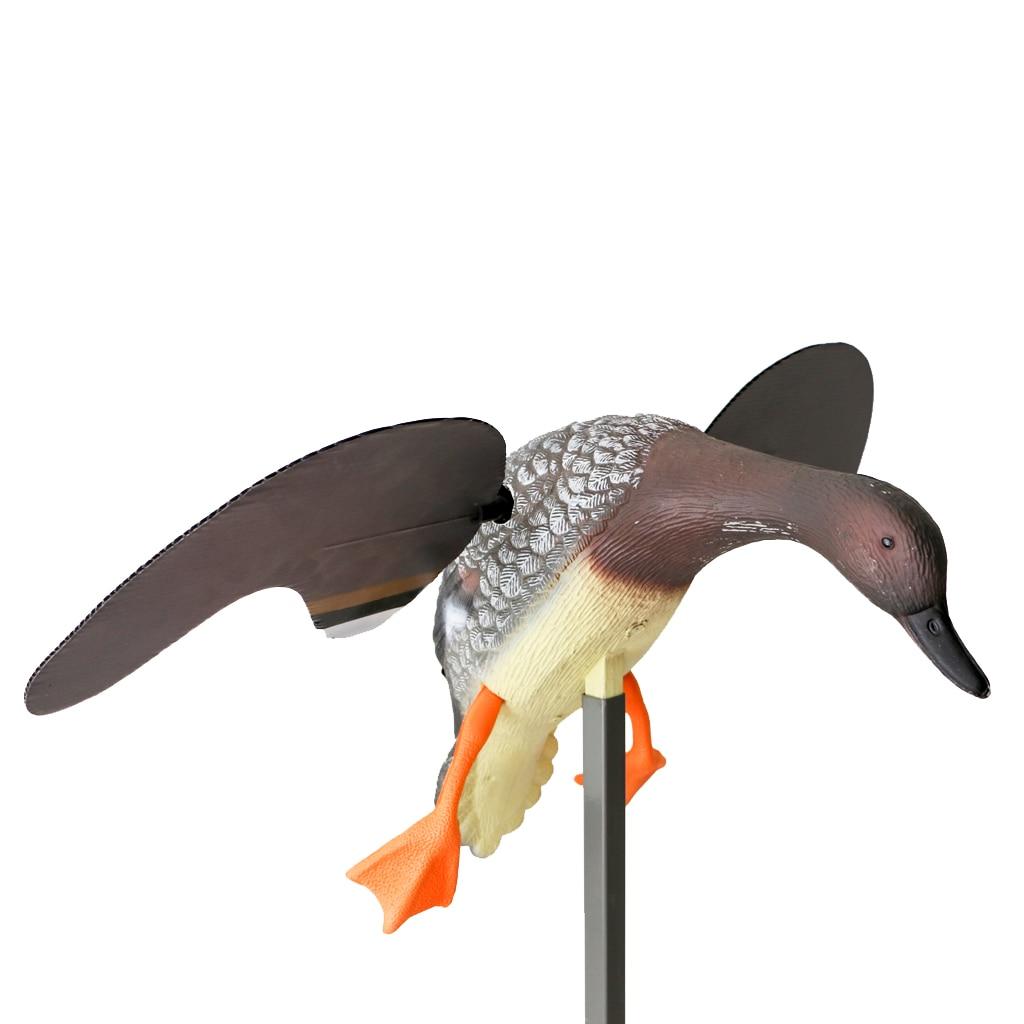 PE extérieur chasse canard leurre électrique volant canard leurres RC télécommande mâle/femelle pour jardin arrière décor ornement - 2