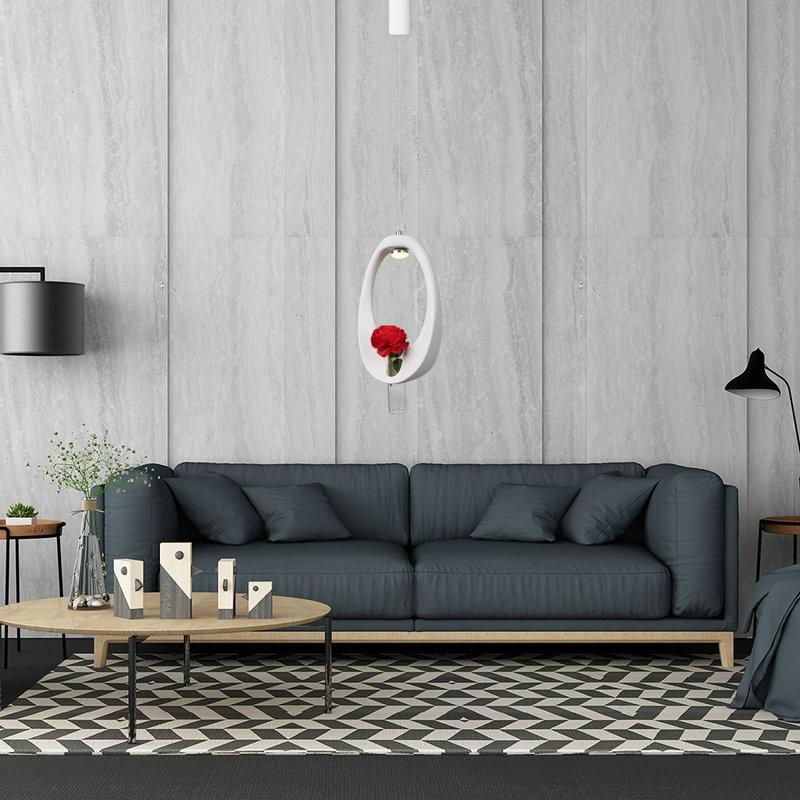 Hanging Pendant Lamp Nordic Art Design LED Pendant Light Dining Room Living Room Coffee Bar Hotel Bedroom Home Lustre Decor in Pendant Lights from Lights Lighting