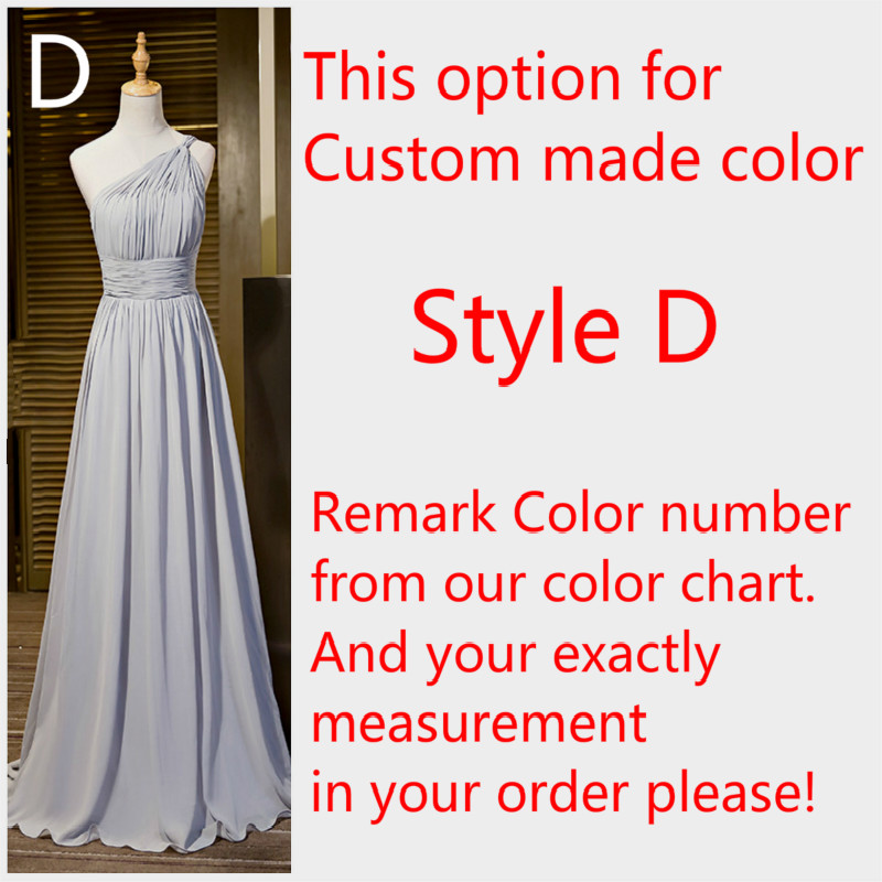 434374f4b7 US $45.04 15% OFF|CX SHINE New Custom color Chiffon 4 style Gray long  Bridesmaid Dresses cheap wedding Prom Dress party dress plus size  Vestidos-in ...