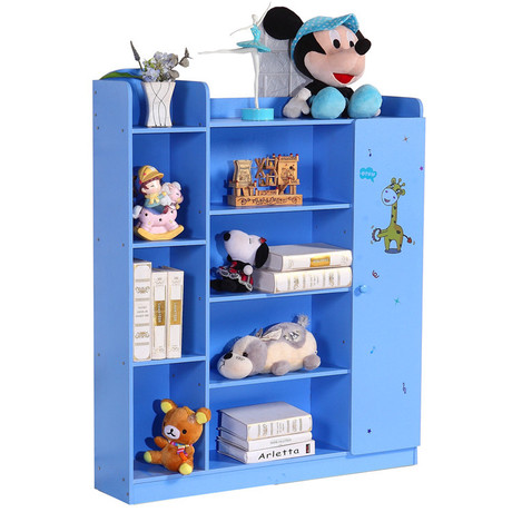 Children Bookcases Living Room Furniture Kids Wood Shelf Bookshelf Cabinet Book Stand Minimalist Estanteria Infantil In From
