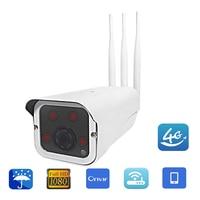 Full HD 1080 P/960 P/720 P HD Bullet IP Kamery CCTV Na Zewnątrz Bezprzewodowy 3G 4G Karty SIM Wifi Outdoor Wodoodporna iPhone Android Zdalnego