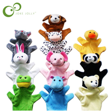 Delicate Baby Child Zoo Farm Animal Hand Glove Puppet Finger Sack Plush Toy Hot Selling