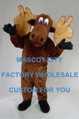 Christmas Carnival Theme Outfit.Us 195 7 5 Off Cheap Mascot Moose Mascot Costume Adult Size Christmas Cartoon Character Carnival Party Outfit Suit Fancy Dress Sw855 In Mascot From