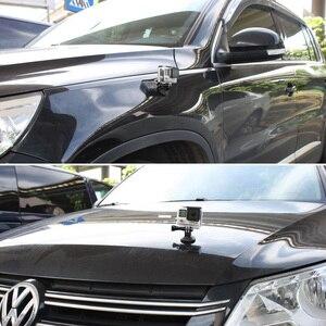 Image 4 - Supporto magnetico per Go pro Accessori Magnete Treppiede In Metallo Universale Adattatore di Montaggio per Gopro Hero5 4 3 + Xiaomi Yi 4k sjcam sj400