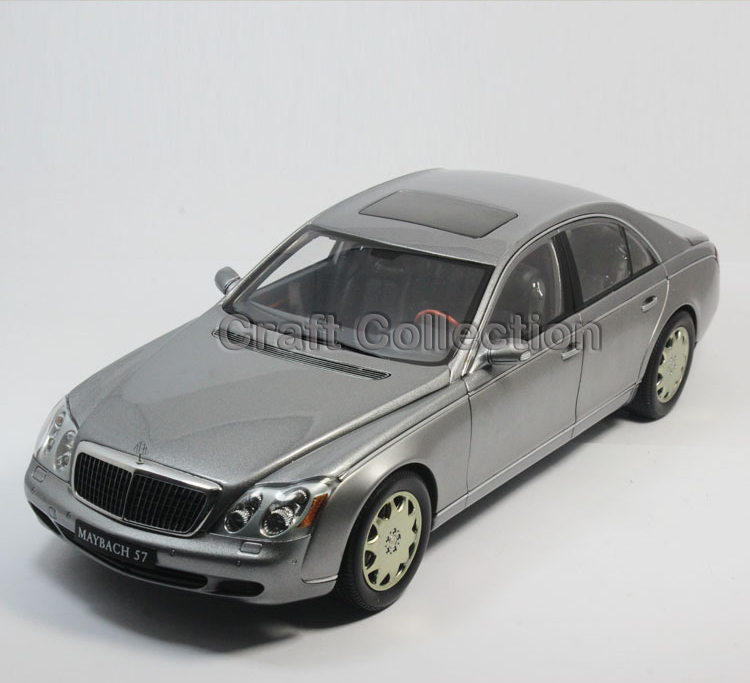 Rare Gray 1 18 AutoArt AA Maybach 57 SWB Diecast Model Car Luxury Collection Limitied