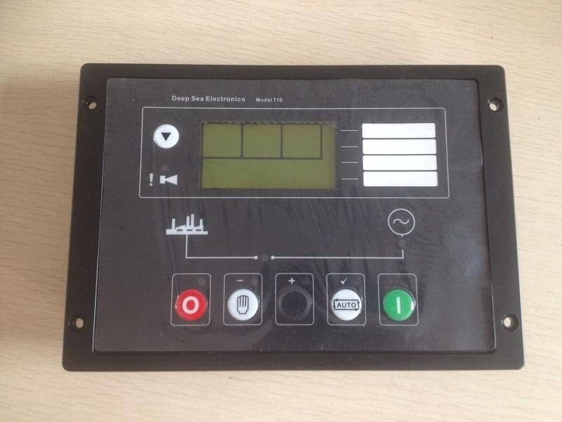 Generator Auto Start Control panel 710 replace DSE710 Controller Genset controller smartgen genset generator controller hgm1780 auto start moudle