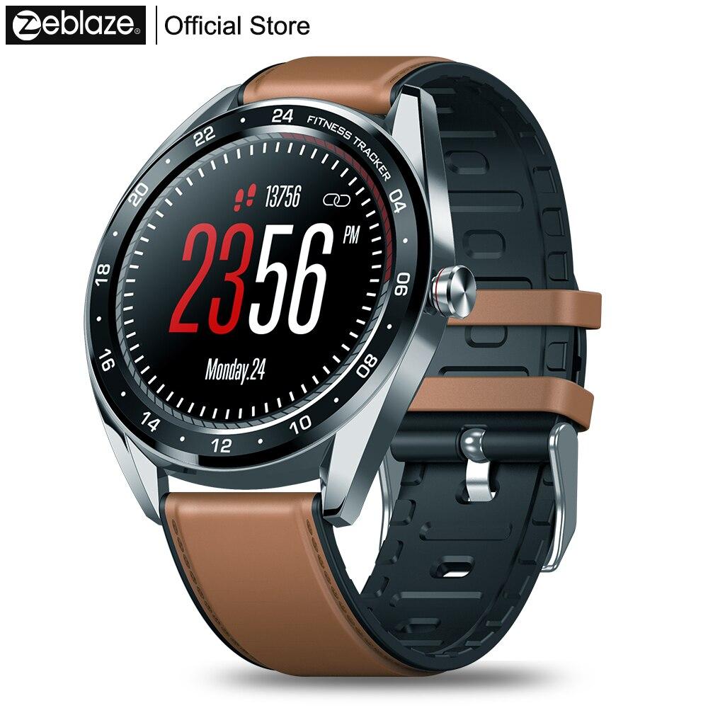 Nouveau Zeblaze NEO série couleur écran tactile Smartwatch fréquence cardiaque pression artérielle femme santé compte à rebours appel rejet WR IP67