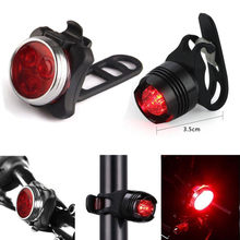 ISHOWTIENDA Bike Light Frame Rechargeable LED Bike Light Bicycle Lamp Set Front Tail Light USB Accessories Bicycle Light(China)