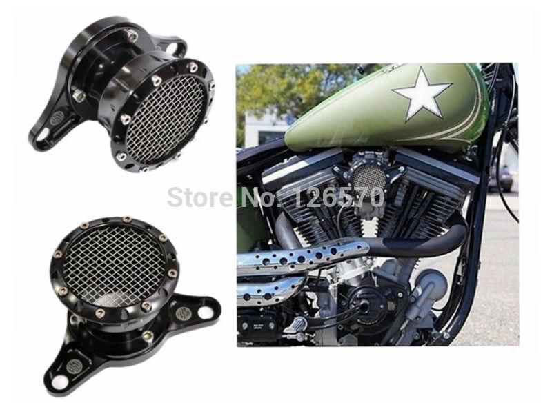 все цены на Motorcycle Parts Black Velocity Stack For 1991-2014 Harley Sportster XL 883 1200 онлайн