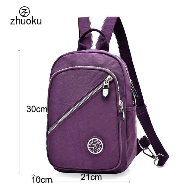 3cd13735e9 Mini Backpack Rucksack good quality Waterproof nylon Purse Very cheap price  small double Shoulder bag 15