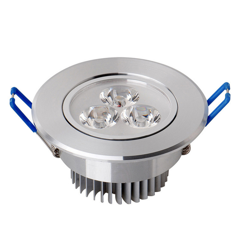LED Spotlight 3W dimmable LED Recessed Cabinet Wall Spot Down light ...