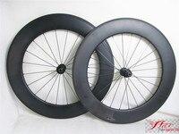 Farsports FSC88-TM-25 DT240 Carbon wheelset 700c 88mm 25mm  high profile carbon wheels tubular for 700c road bicycle