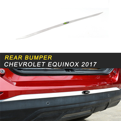 Rear Bumper Fender Protector Cover Trim Frame Sticker Exterior Accessories for Chevrolet Equinox 2017 Car Styling