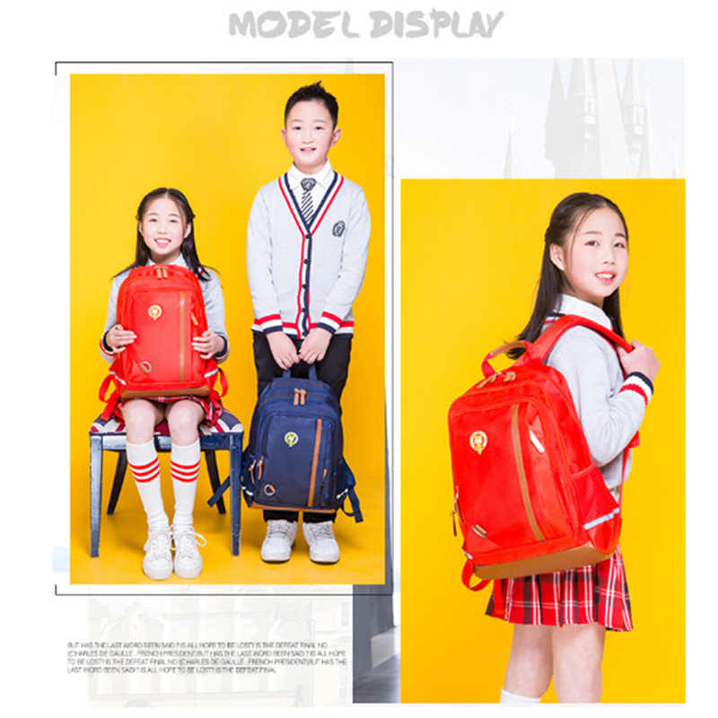 Водонепроницаемые школьные сумки детский школьный рюкзак для мальчиков Студенческие легкие рюкзаки детская Европейская версия школьные сумки mochila