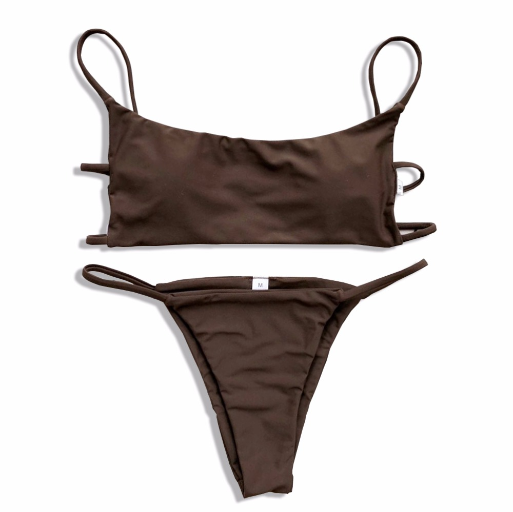 Brazilian Bikini 2018 Badeanzug Bademode Frauen Schwimmen Badeanzug Sommer Bademode Sexy Push Up Off Shouler Bikinis Set