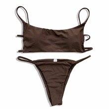 Brazilian Bikini 2018 Swimsuit Swimwear Women Swimming Bathing Suit Summer Beachwear Sexy Push Up Off Shouler Bikinis Set