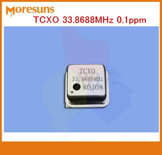 Free Ship Stereo DIY fihi TCXO 33.8688MHz 0.1ppm Square DIP8 High precision temperature-compensation crystal oscillator