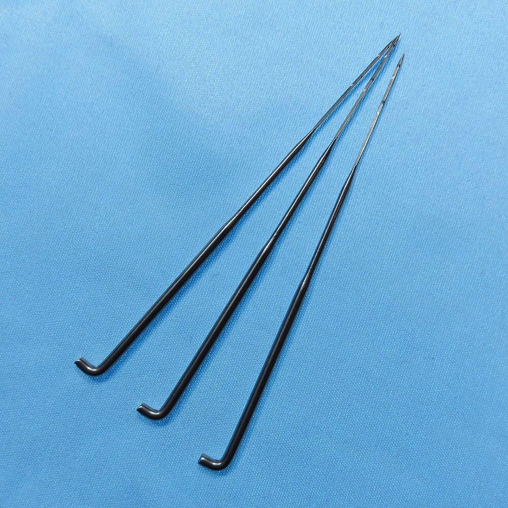 40G Omgekeerde viltnaald 500 stks/partij driehoek vilten 40G R222 omgekeerde barb naalden-in Naai naalden van Huis & Tuin op  Groep 1