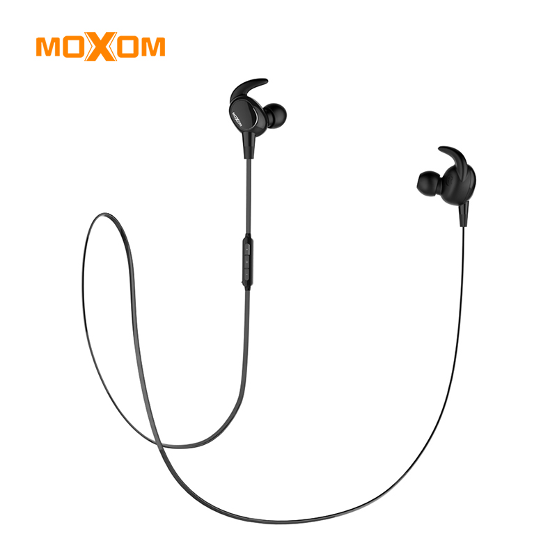 MOXOM Wireles Headphones Bluetooth V4.1 Sport Earphone In-Ear Wireless Stereo Earphone Earbuds Stereo headset For iPhone Samsung fashion 3 5mm stereo in ear earphone earbud headphones headset for htc ipad iphone samsung binmer factory price drop shipping