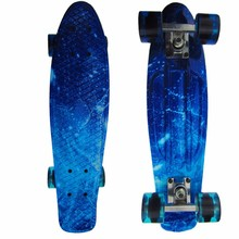 Newest Cruiser Peny Board 22 Inch For Kids Surf Long skateboard decks For Outdoor Sports ABS Ironing Retro For Children's Gifts