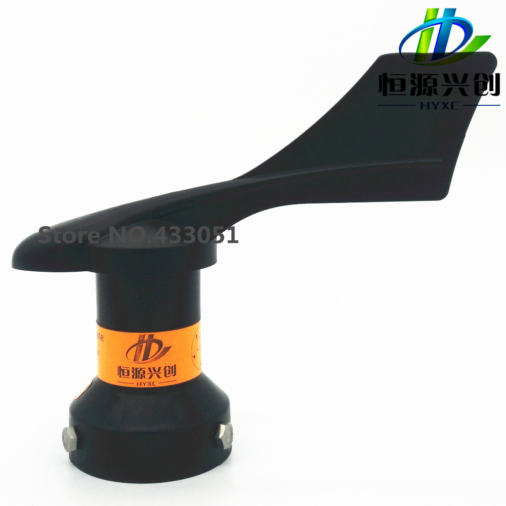 Wind direction sensor, measuring range 0-360 degrees , analog signal output, power supply DC24V, suitable for weather monitoring