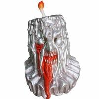 Halloween Terror Mask Candle Man Latex Helmet Cosplay Costume Props