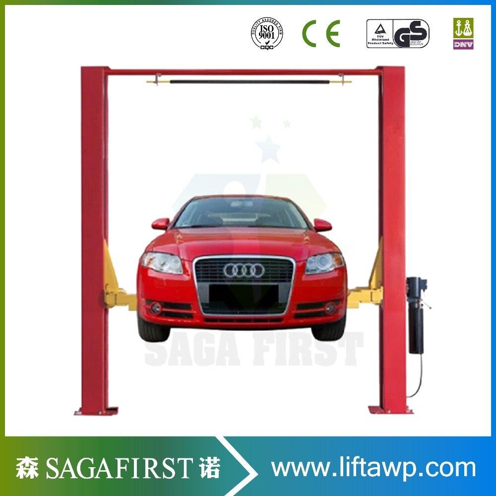 Clear Floor Hydraulic Two Post Car Hoist