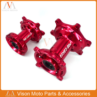 Motorcycle Front & Rear Wheel Hubs Rim For Honda CR125 CR250 CRF250X 2000 2014 CRF250R 2004 2013 CRF450R CRF450X 2002 2011 2012
