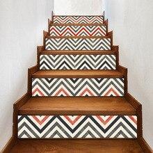 현대 홈 장식 자기 접착제 3d 계단 스티커 장식 다락방 아트 스티커 홈 장식 빈티지 포스터