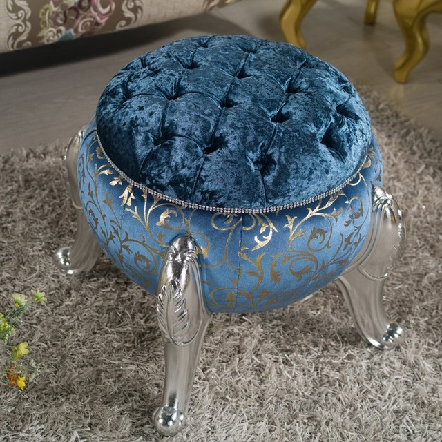 Modern Home Ottoman Dressing Stool Changing Room Chair Wedding Chair Decorations