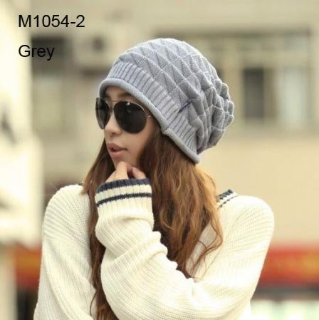 6pcs Cheap Crochet Slouchy Beanie Women Winter Hats Unisex Knitted Baggy  Beanies Fashion Oversized Knitting Beanies Skull Caps 89213b28a81