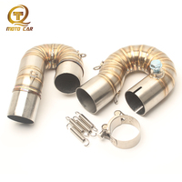 Motorcycle Exhaust Link Pipe Middle Connect Pipe for Honda CBR1000RR CBR1000 2008 2009 2010 2011 2012 2014 Escape Accessories