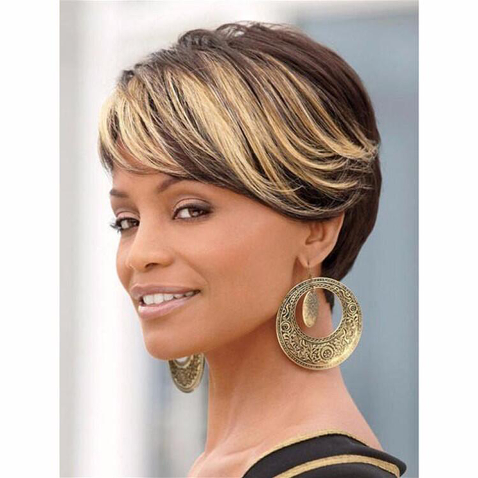 Wigs for black women ombre short wig pelucas ever after high wig black friday ladies wigs