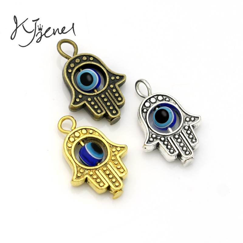 10pcs fatima hand antique silver plated khamsah hamsa hand charms 10pcs fatima hand antique silver plated khamsah hamsa hand charms pendants for jewelry making bracelet diy 18x13mm in charms from jewelry accessories on aloadofball Choice Image