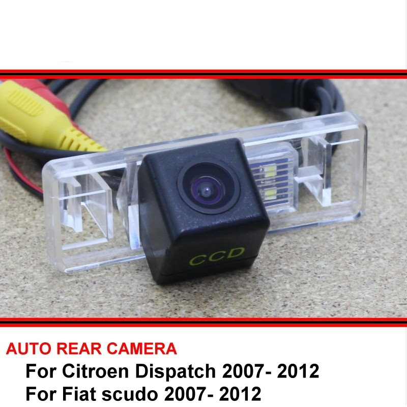 For Citroen Dispatch Jumpy Combi  Fiat Scudo HD CCD Vehicle Camera Night Vision Rear View Camera Reversing Camera Car Back Up