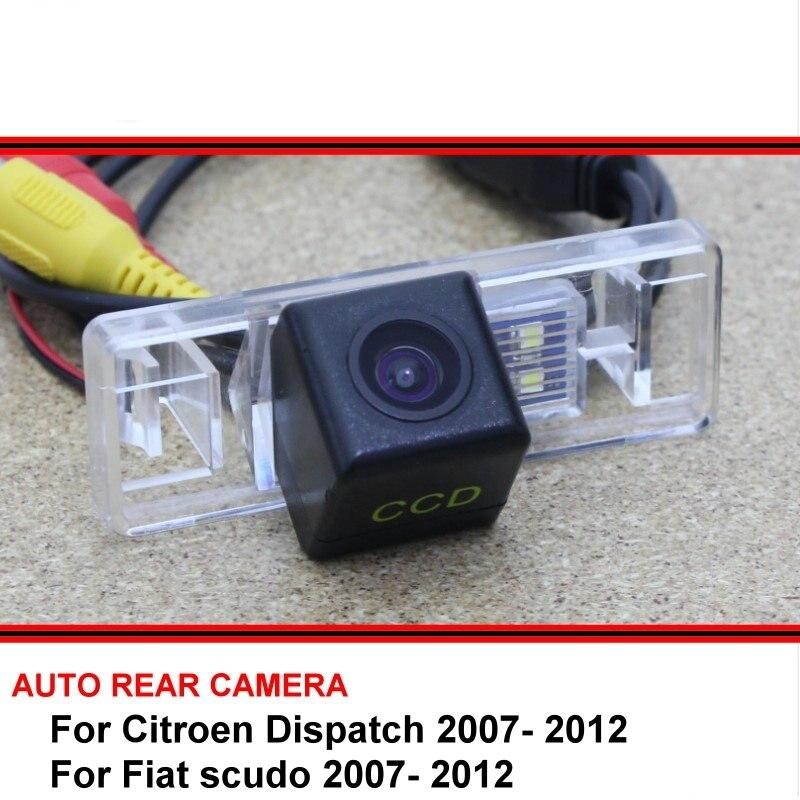 Para Citroen Jumpy Combi Expedição Fiat scudo HD CCD Câmera de Visão Noturna Câmera de Visão Traseira Do Veículo Invertendo Câmera Do Carro de Volta up