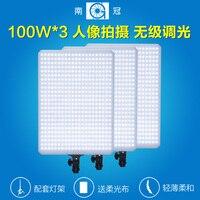 Nanguang CN T504 100W LED Photo Light Kit For Photo And Video Ra 95 3X LED