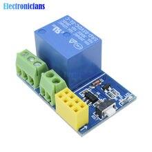 ESP8266 ESP-01 esp01 5V WiFi röle modülü Arduino için şeyler akıllı ev uzaktan kumanda anahtarı telefonu olmadan APP ESP-01S