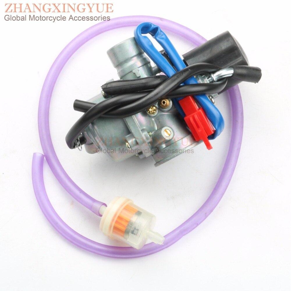 19mm Carburetor & High Quality Air Filter for AirTec 50 LC / AC Blizzard GTA 50 Cat 50 Matador 50 Noble 50 PR 50 Jet 50 2T