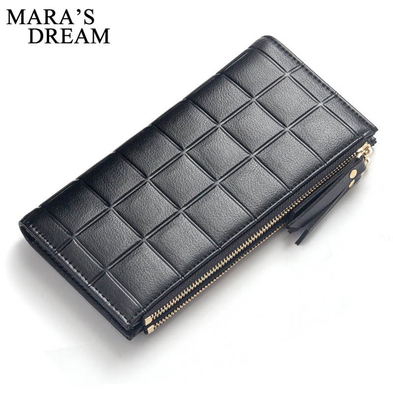 Mara's Dream Wallet for Girls Phone With Double Zipper Coin Purse Holders Money Bag Ladies Purse Women Slim Wallets Female Lady